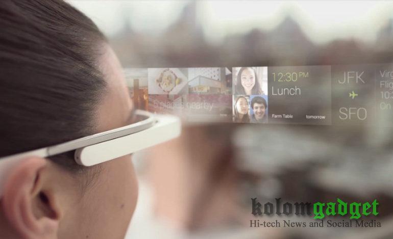Inikah Desain Google Glass 2?