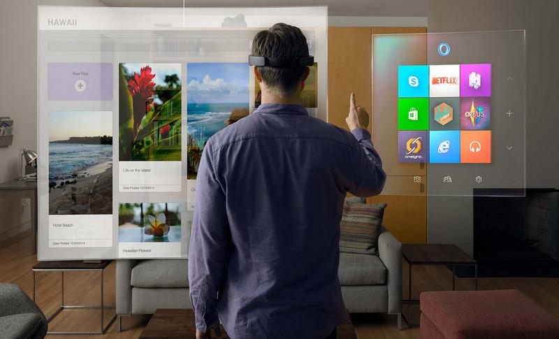 Headgear Microsoft HoloLens