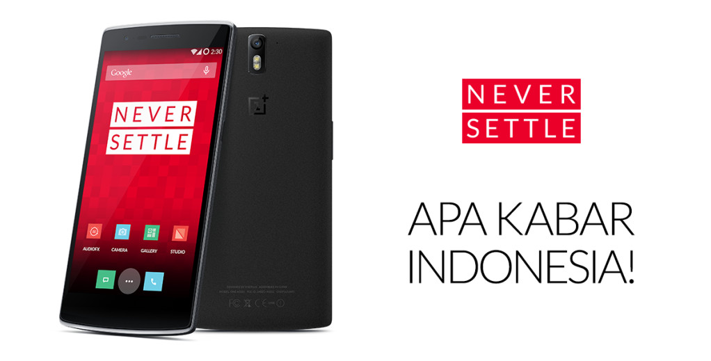 OnePlus One di Indonesia