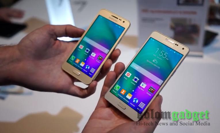 Galaxy A3 Dan A5 Dua Smartphone Lini Baru Samsung Mulai Invasi Indonesia