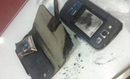 Samsung Galaxy S3 Terekam Kamera CCTV Saat Meledak di Bank Thailand