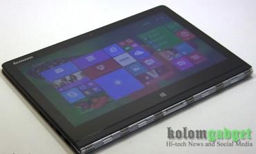Lenovo Luncurkan Laptop Konvertibel Yoga 3 Pro di Indonesia