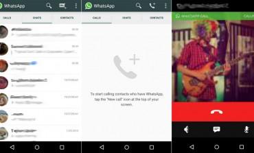 Diam-diam WhatsApp Sudah Luncurkan Fitur Panggilan Suara