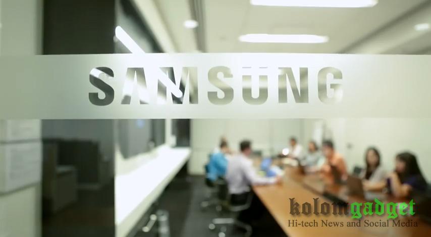Pintu Kantor Samsung Electronic