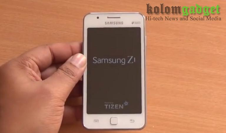 Samsung Z1 berplatform Tizen
