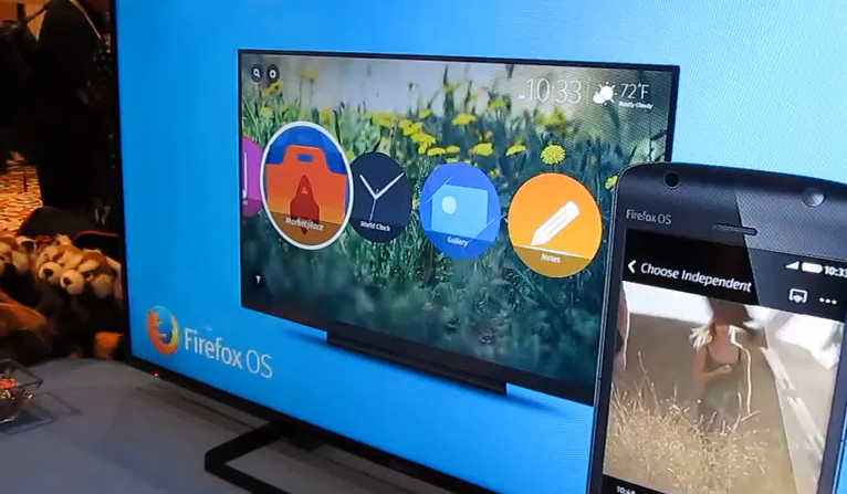 Smart TV Panasonic Firefox OS