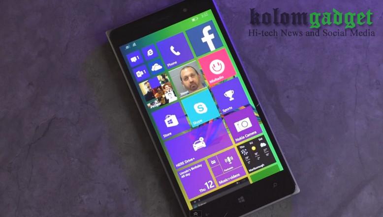 Windows 10 di Lumia 830