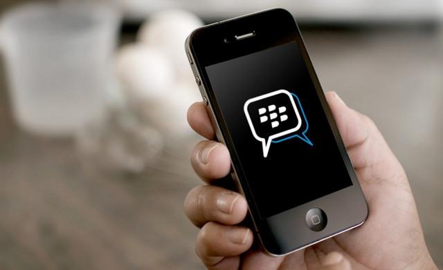 BBM Blackberry messenger di iPhone