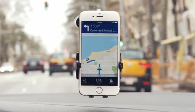HERE Maps untuk iPhone