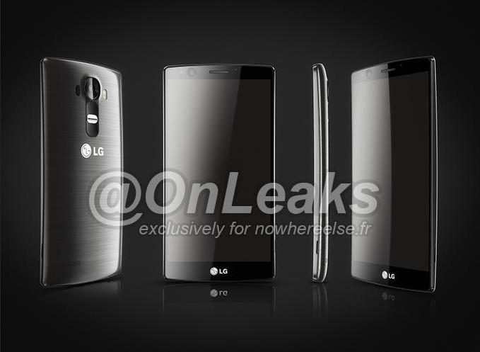 Gambar render LG G4