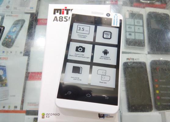 Mito A850 Tampil Ala HTC One Dengan Tubuh Lebih Mungil, Ini Harga Per April 2015