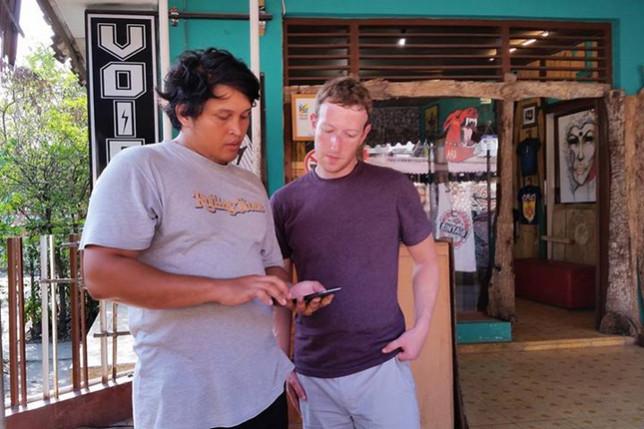 Mark Zuckerberg dan masyarakat Indonesia