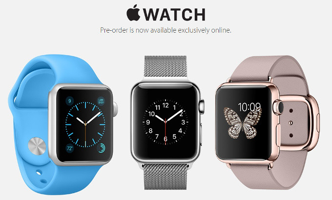 Pre-order Apple Watch