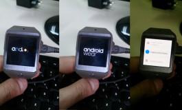 Samsung Gear 2 Sukses Jalankan Android Wear! Ini Buktinya