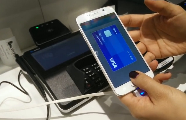 Samsung Pay Galaxy S6