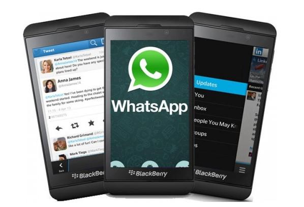 Gawat, Tahun Depan WhatsApp Tak Akan Lagi Dukung Blackberry OS (Termasuk Blackberry 10)