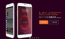 Meizu MX4 Ubuntu Edition Akhirnya Dirilis Seharga ¥1,799