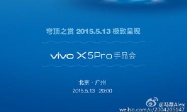 Vivo X5Pro akan Diresmikan 13 Mei, Bawa Teknologi <em>Eye-recognition</em> dan Kaca 2.5D