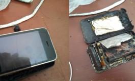 iPhone 3G Terbakar Lukai Pria di Pondok Pinang Jakarta Selatan