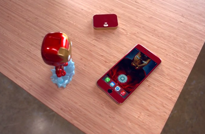 iPhone 6 Iron man