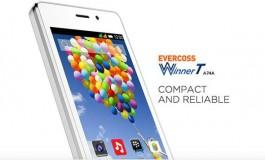 Evercoss Winner T, Ponsel 4G Murah Berprosesor Quad-Core