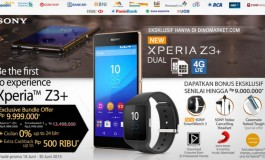 Sony Xperia Z3+ Dual Mendarat di Indonesia, Pre-order Tawarkan Bundel Smartwatch 3