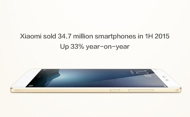 34,7 Juta Smartphone Xiaomi Telah Terjual Selama Paruh Pertama 2015
