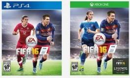 Cover FIFA 16 Bakal Tampilkan Messi dan Pesepakbola Wanita