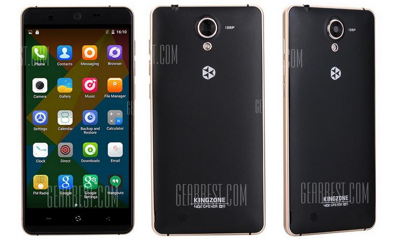Kingzone N5, Smartphone 4G LTE Berkamera 13MP Buka Pre-orde