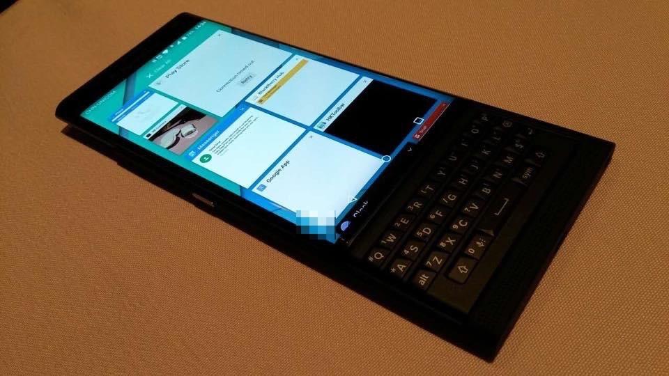 Blackberry Venice Berpose di Banyak Gambar Nyata 5