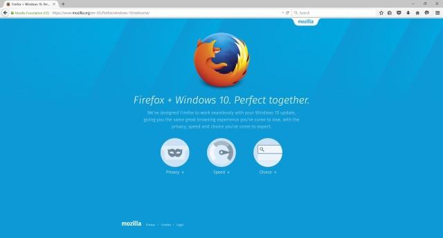 Firefox 40 Kini Lebih Mendukung Windows 10
