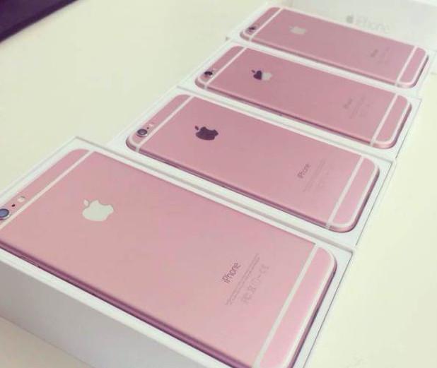 Inikah iPhone 6s Warna Rose Gold 2