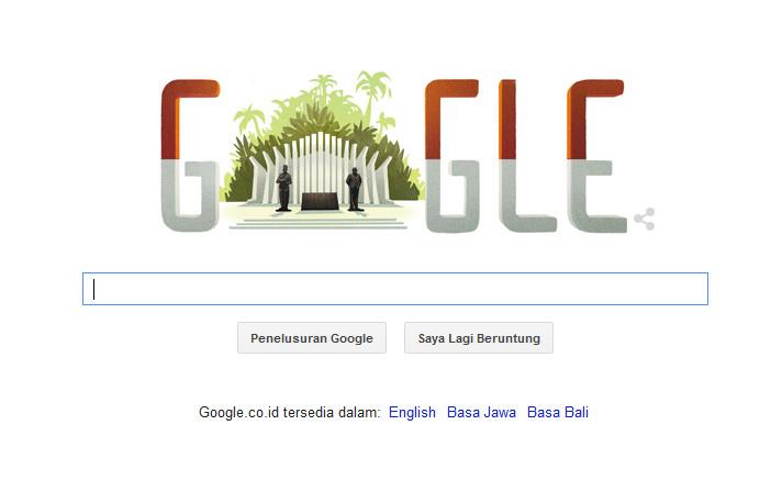 Meriahkan Hari Kemerdekaan Indonesia, Merah Putih Pun Berkibar di Google