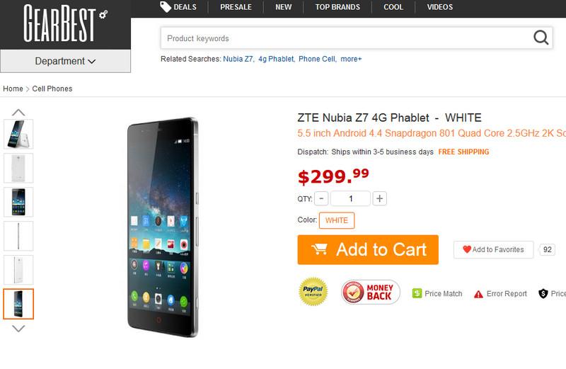 ZTE Nubia Z7, Sang Mantan yang Kini Tersedia Global