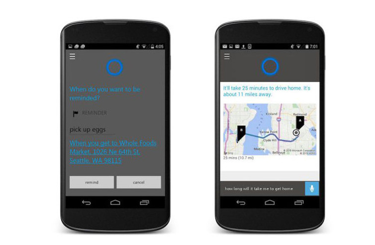 Cyanogen Ganti Asisten Virtual Android (Google Now) Dengan Cortana