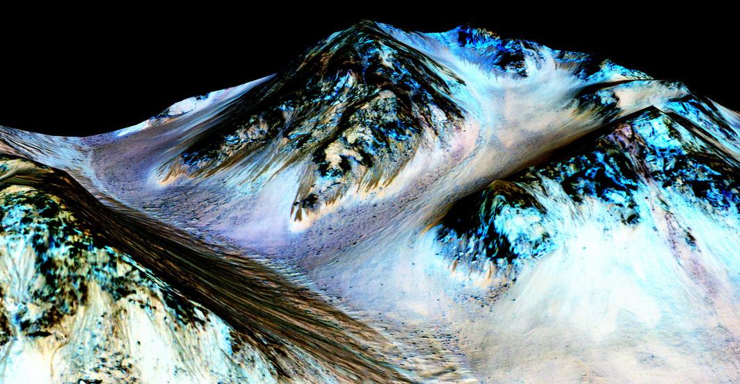 Dikonfirmasi NASA, Mars Punya Tanda-tanda Air yang Mengalir