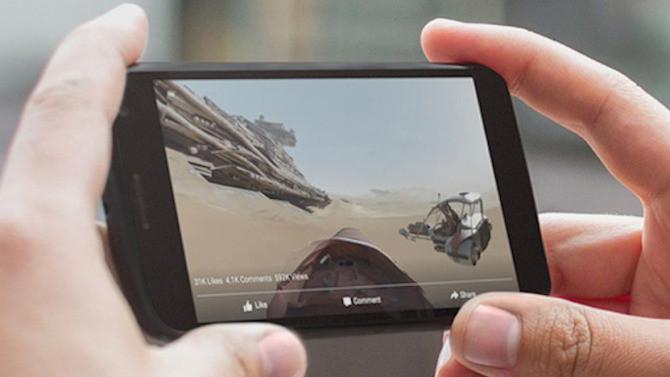 Facebook Perkenalkan Video 360°
