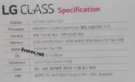 Gambar Bocoran Baru LG Class Ungkap Spesifikasinya
