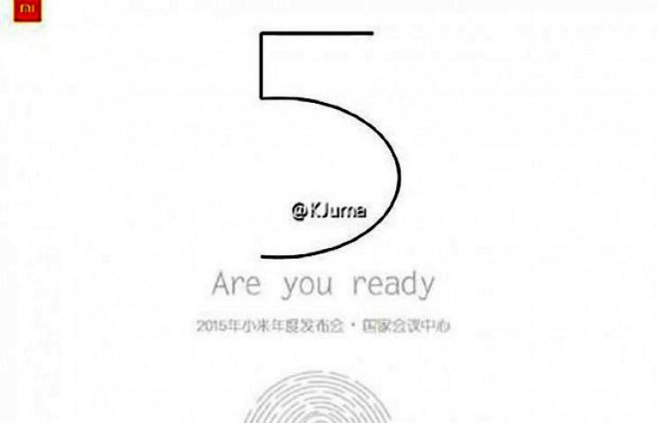 Gambar Teaser Xiaomi Mi 5 Ini Konfirmasi Adanya Pemindai Sidik Jari