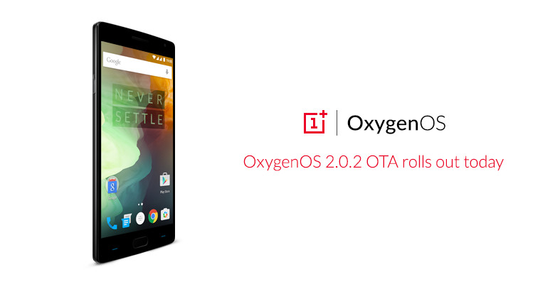 OnePlus 2 Dapatkan Pembaruan OxygenOS 2.0.2