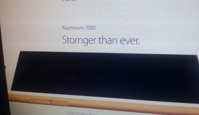 Video Ini Ungkap Spesifikasi iPhone 6s & Pilihan Warnanya di Situs Resmi Apple