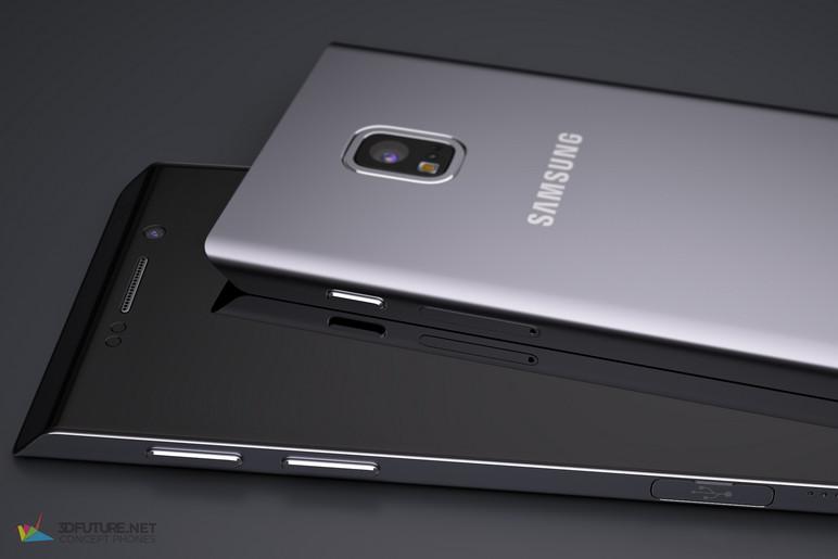 Inilah Konsep Samsung Galaxy S7 Berdasarkan Paten Ponsel Trapesium 4