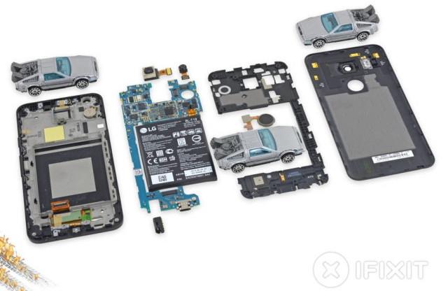 LG Nexus 5X Gampang Diperbaiki