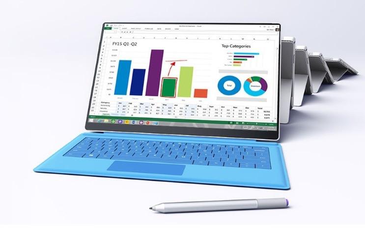 Microsoft Surface Pro 4 Punya Bezel Minimalis