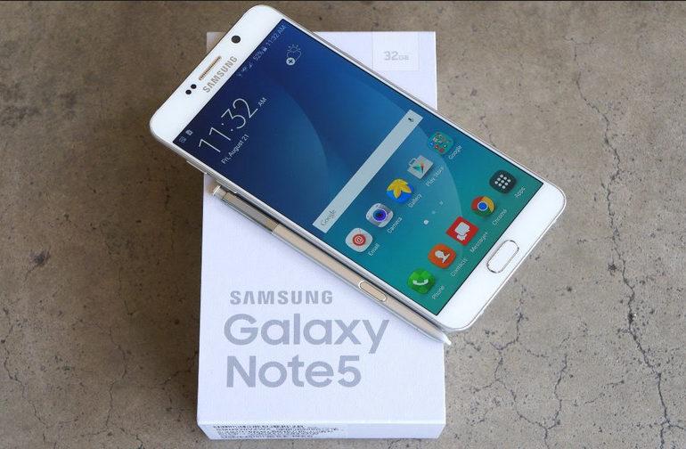 Samsung Galaxy Note 5 Terima Update Untuk Stabilitas Panggilan dan Optimalkan Baterai