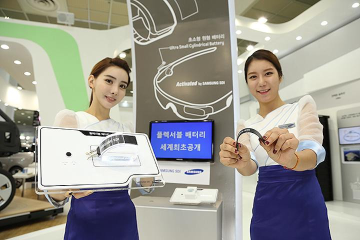 Samsung & LG Pamer Baterai Futuristik 1