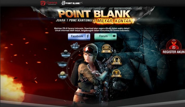 Turname e-Sports Point Blank International Championship Garena Indonesia Segera Digelar