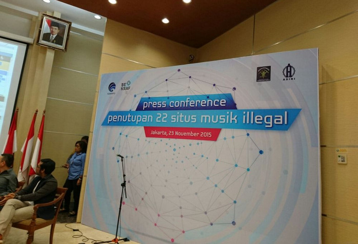 22 Situs Musik Ilegal Diblokir Kominfo