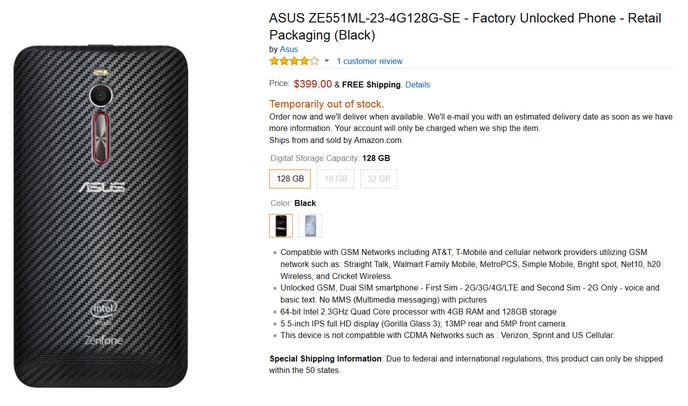 Asus Zenfone 2 Deluxe Edition Hampiri 'Paman Sam'