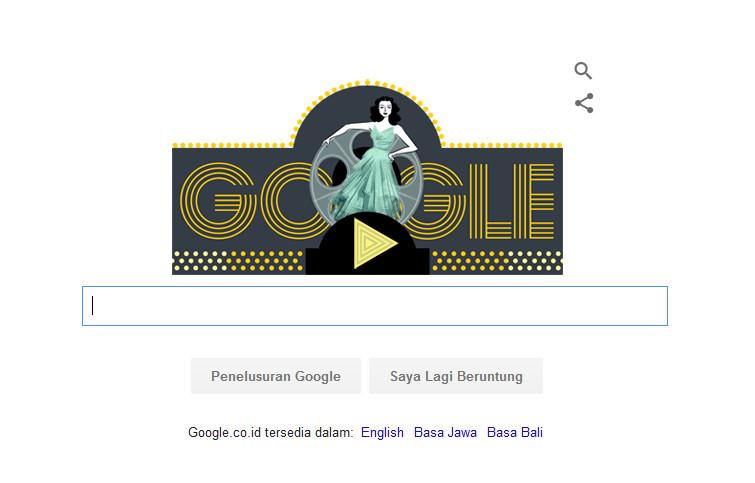 Hedy Lamarr, Aktor Cantik dan Matematikawan yang Berlatar Belakang Militer Hiasi Doodle Hari Ini